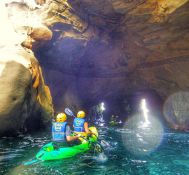 La Jolla Kayak tours through the La Jolla Sea Caves
